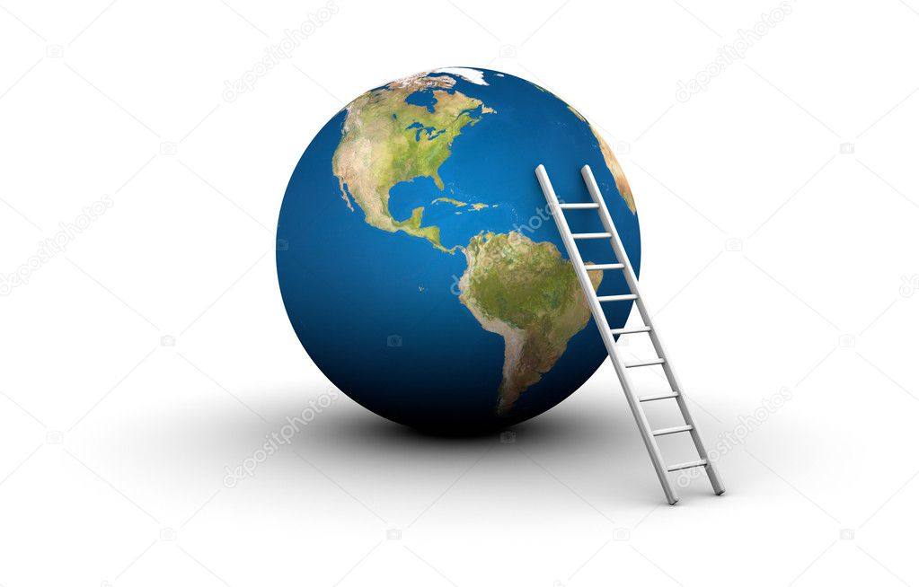 Ladder to the Top of the World