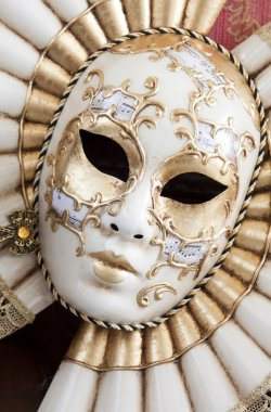 Typical mask from the venice carnival