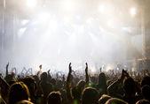 Fényképek tömeg: koncert
