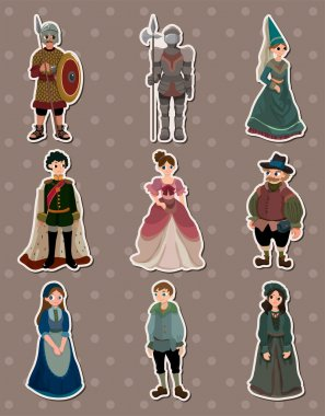 cartoon Medieval stickers