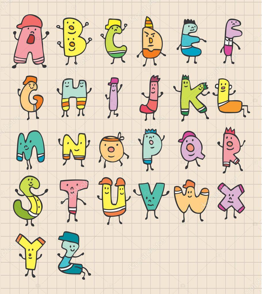 かわいい手紙 — ストックベクター © mocoo2003 #8035232
