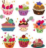 Fotografia torta di cartone animato