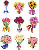 květ kytice ikony