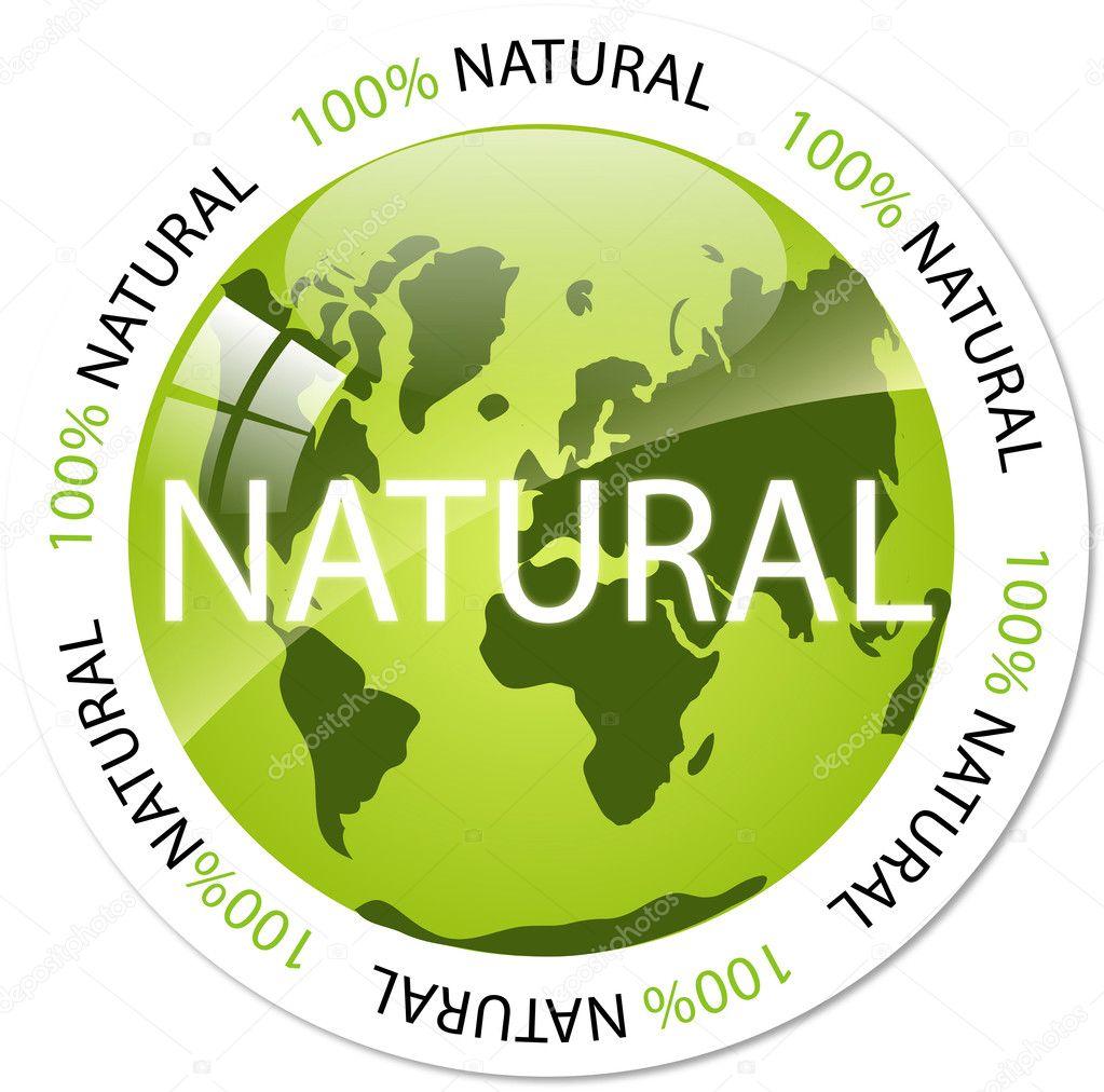 Eco icon button