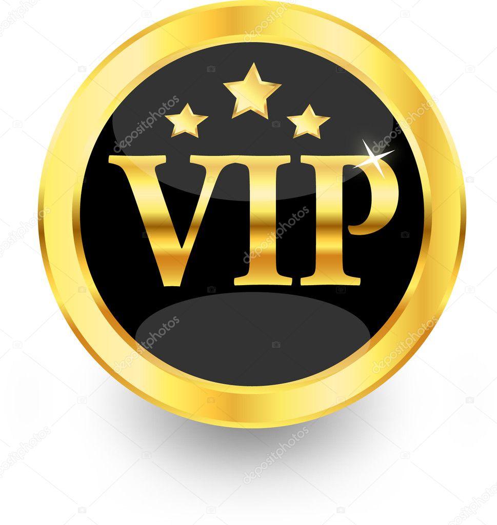 Gold vip — Stock Vector © Kristina2211 #8684868