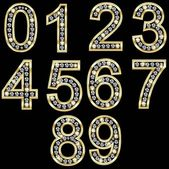 Photo Gold number