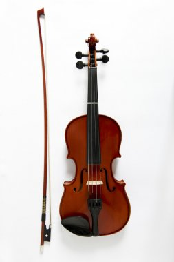 Viola and bow