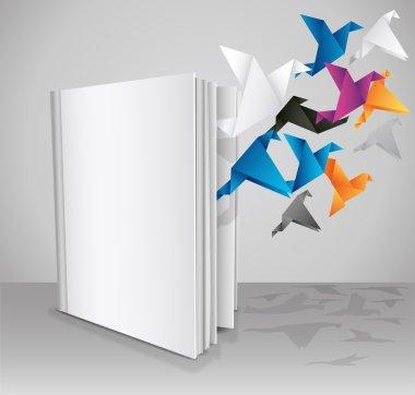 Blank Book, Creative Book Presentation.