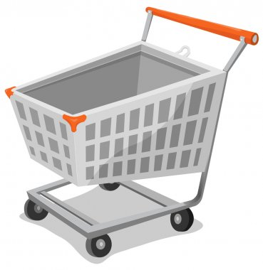 Cartoon Shopping Cart