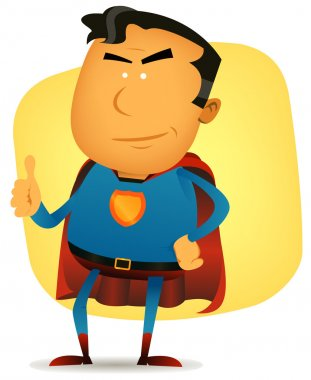 Comic Superman Character