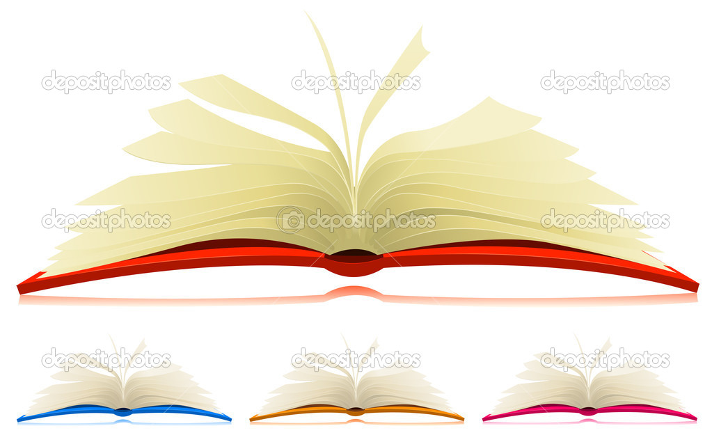 Conjunto De Libro Abierto Vector De Stock Benchyb 9936524