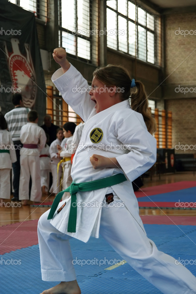 Karate cup
