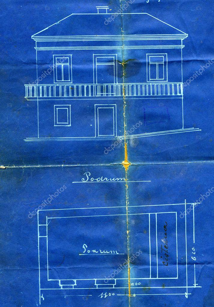 Old blueprint stock photo viki2win 9925914 old blueprint stock photo malvernweather Images