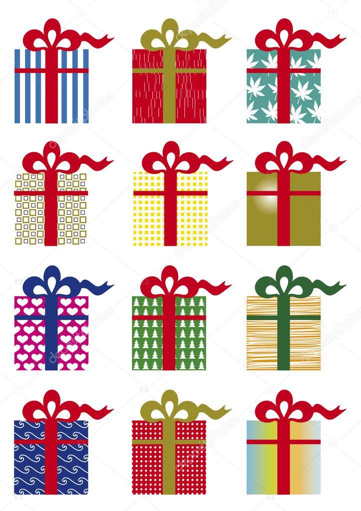 Pacchetti regalo vettoriali stock graphicjet 8171653 for Immagini di pacchetti regalo