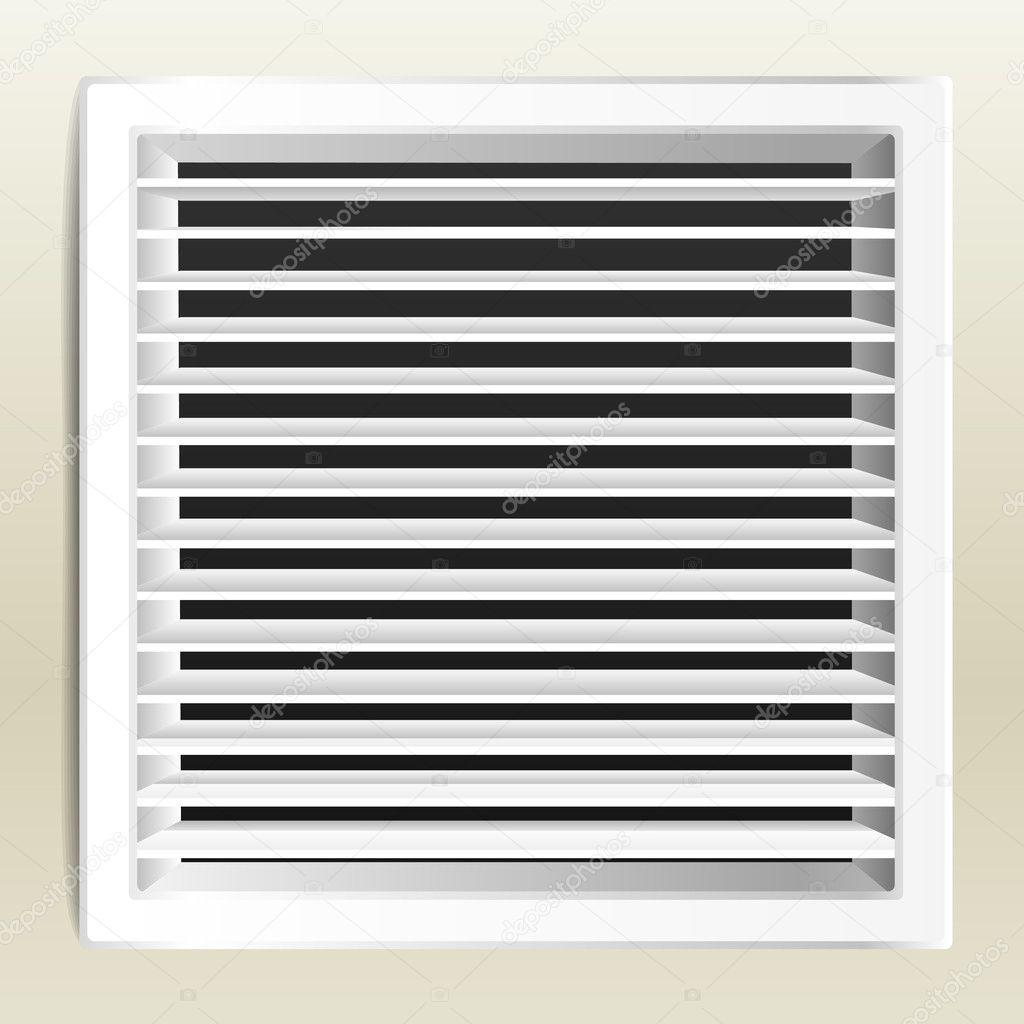 Fotorealistische Badezimmer Lüftung Fenster. Vektor U2014 Vektor Von Tovovan_