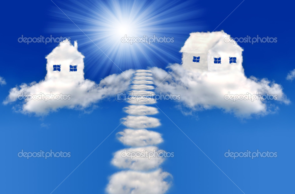 Houses from clouds