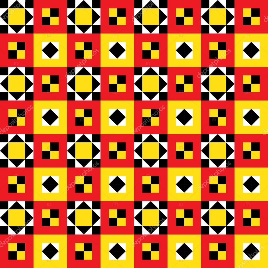 Ethnic Quilt Pattern — Stock Vector © dukepope #10196583 : ethnic quilt - Adamdwight.com