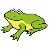 Kreslený žabák