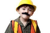 Fotografie kleine Bauarbeiter