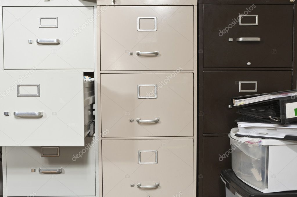 Funky File Cabinets u2014 Stock Photo & Funky File Cabinets u2014 Stock Photo © trekandshoot #7977562