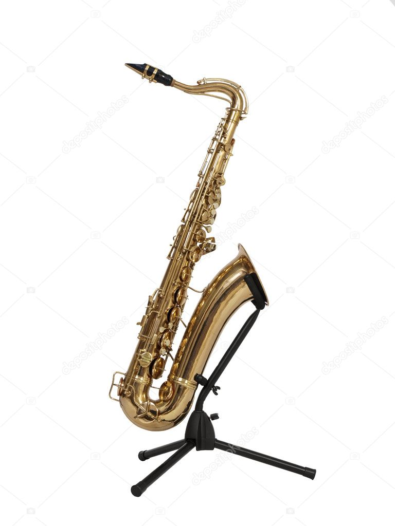 Old Saxophone — Stock Photo © trekandshoot #7977604