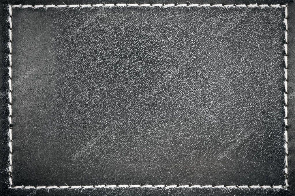 marco de cuero negro — Foto de stock © ccat82 #9285782