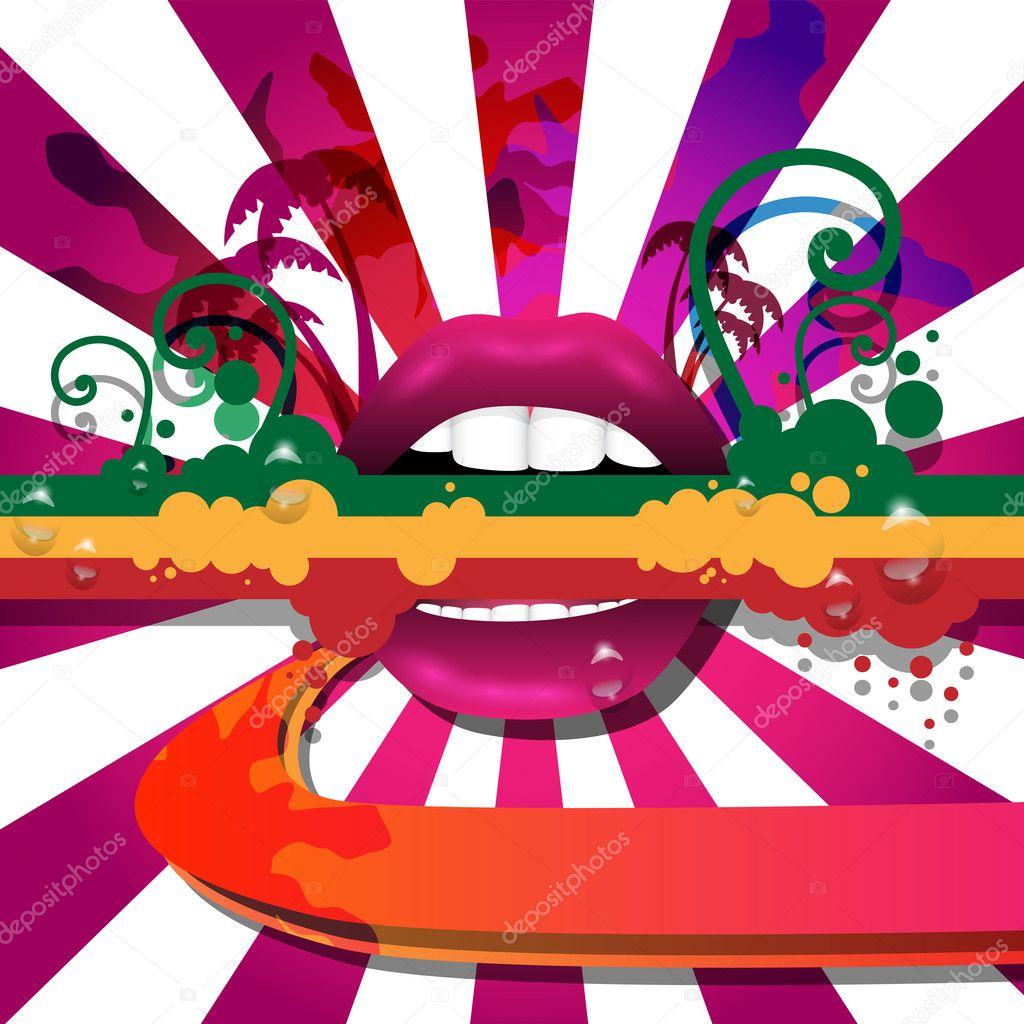 Vector Party Flyer Design