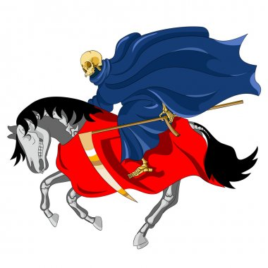 Equestrian of the Apocalypse. Death