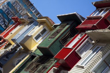 Houses of Istanbul, Turkey