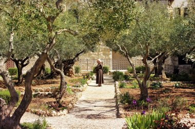 Keeper of the Garden of Gethsemane, Jerusalem