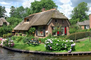 Giethorn in Netherlands