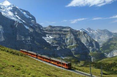 Railways in the Swiss Alps