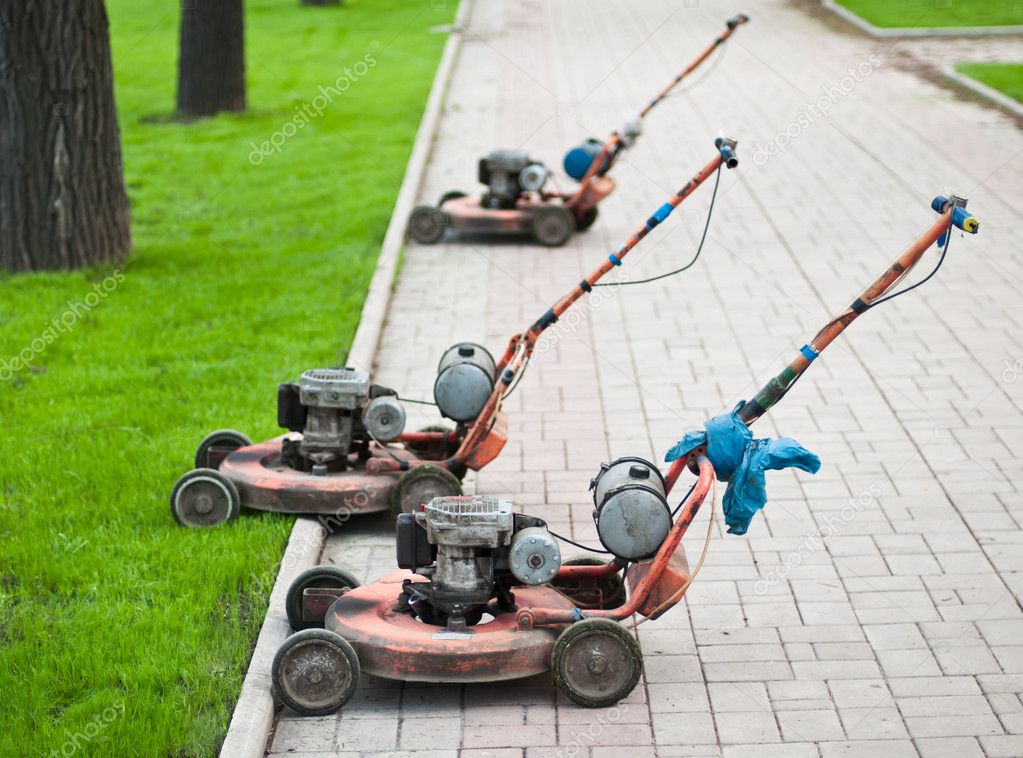Old Lawnmowers