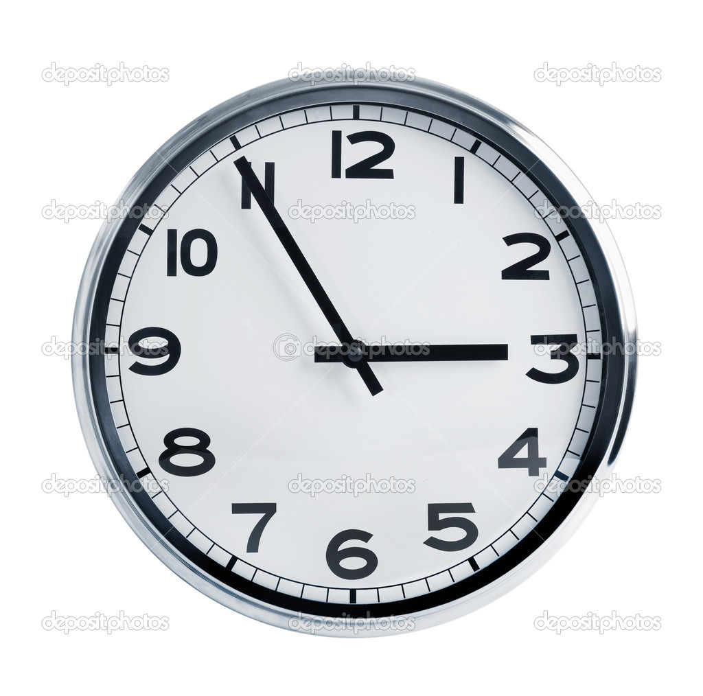 office wall clocks large. Office Wall Clock \u2014 Stock Photo Clocks Large S