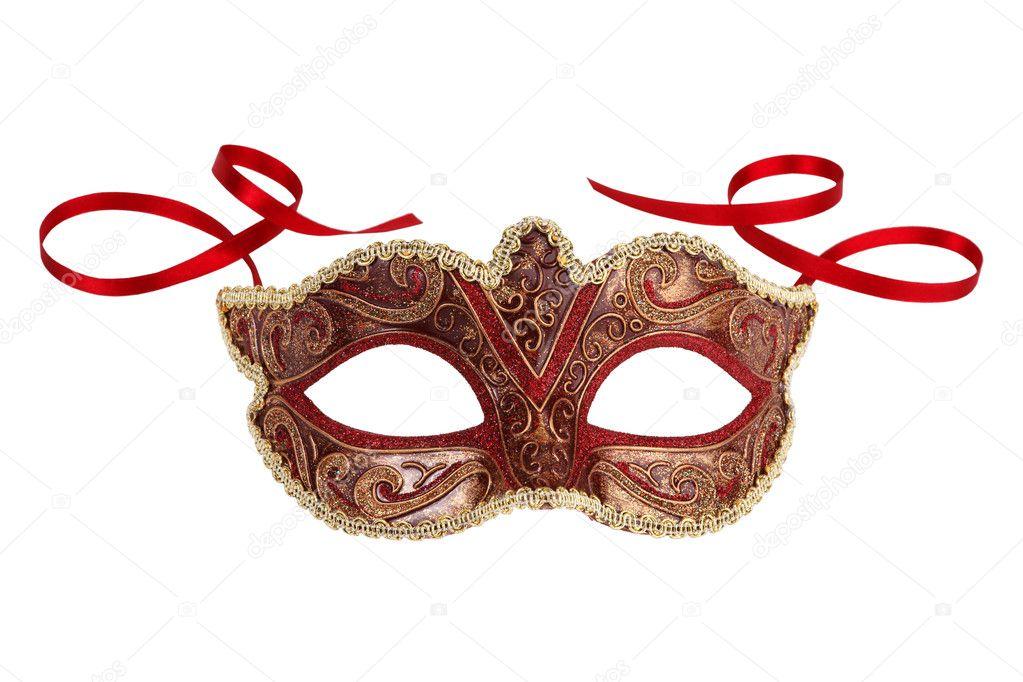 Beautiful festive carnival mask
