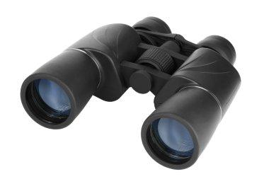 Binoculars in black plastic