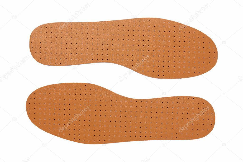 Brown Leather Shoe Insoles Stock Photo Dimedrol68 8233002