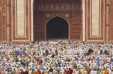 Worshiping at the Taj Mahal