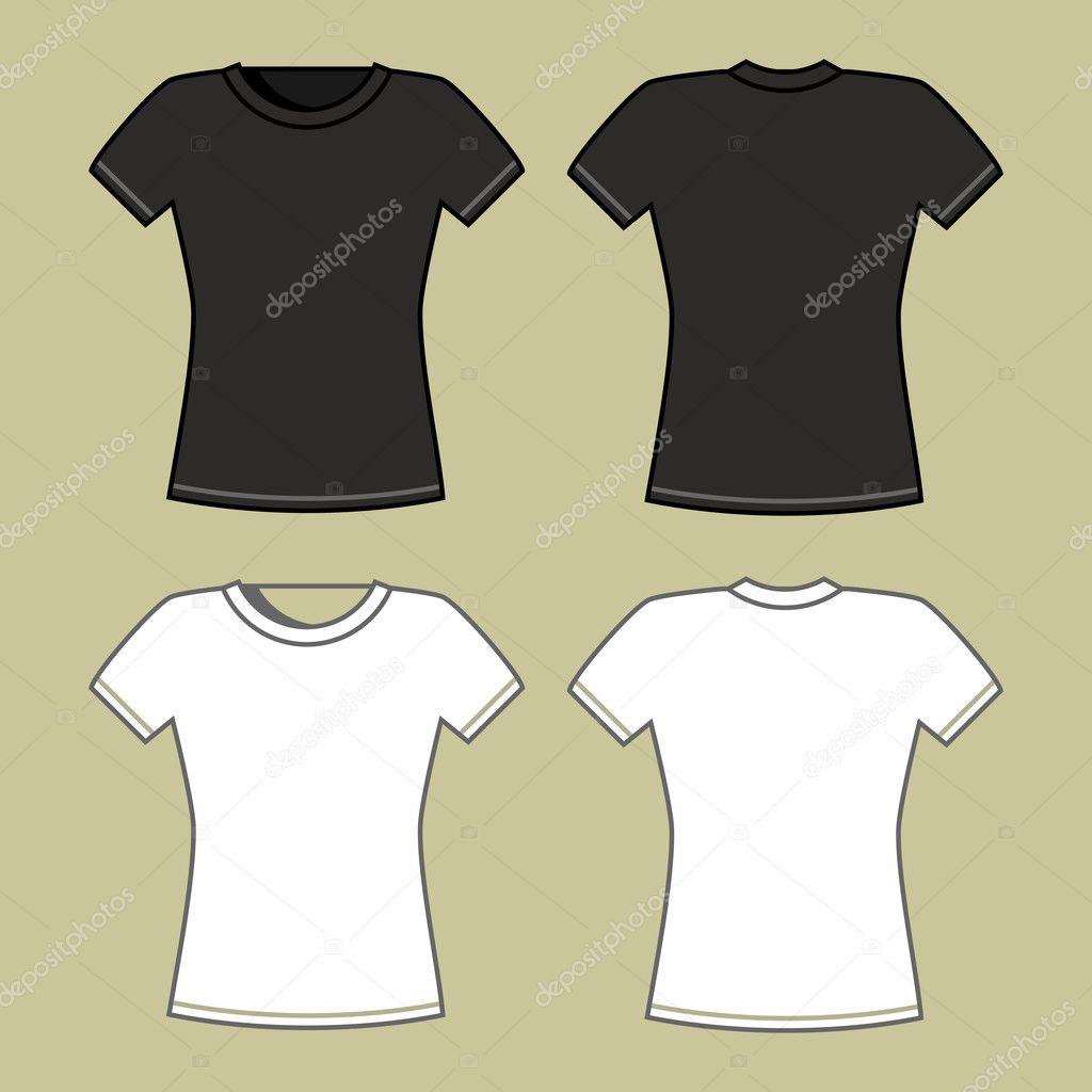 t-shirt vorlage — Stockvektor © nikolae #8899357