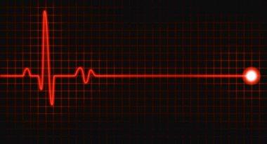 Pulse graph stock vector