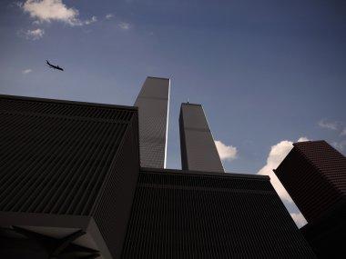 World trade center NY under attack