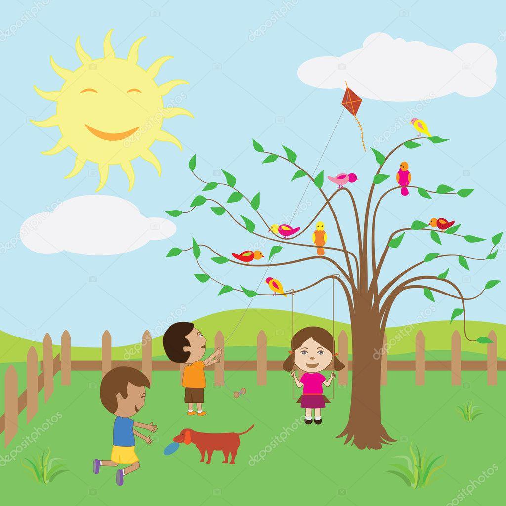 Картинка хорошей погоды для детей