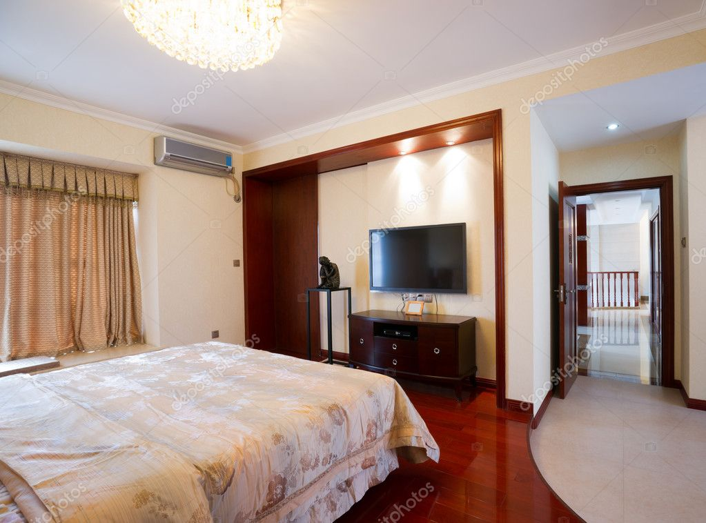 luxe slaapkamer interieur — Stockfoto © roseburn3djob #8636908