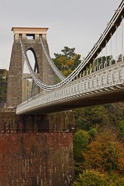 Clifton Suspension Bridge in the Fall