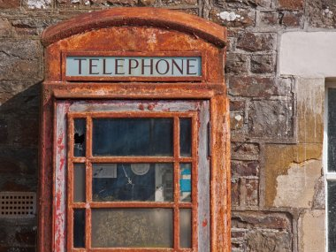 Disused Phone Box in UK