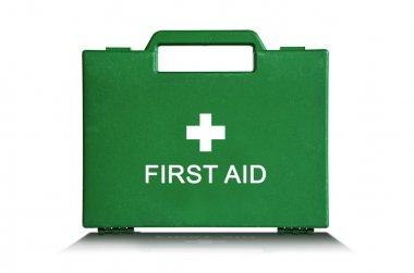 Green First Aid Box