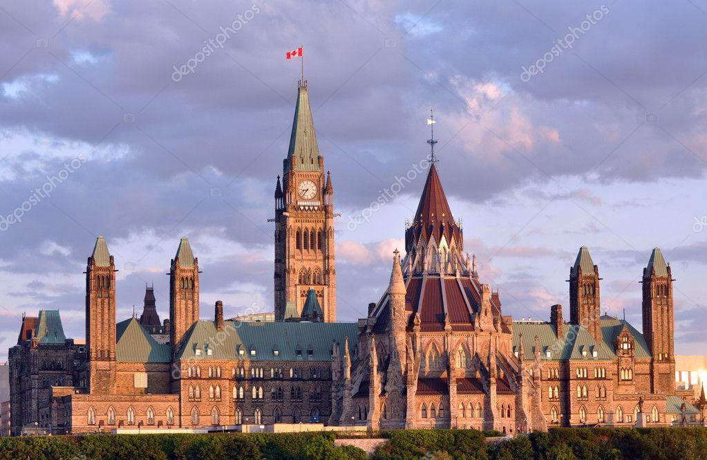 Parilament Buildings in Ottawa, Canada