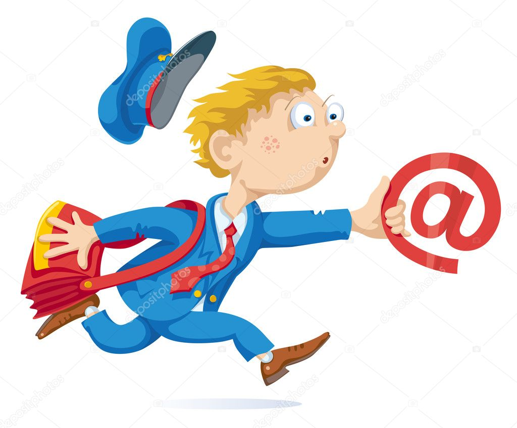 Running Postman With Mail Bag and Message