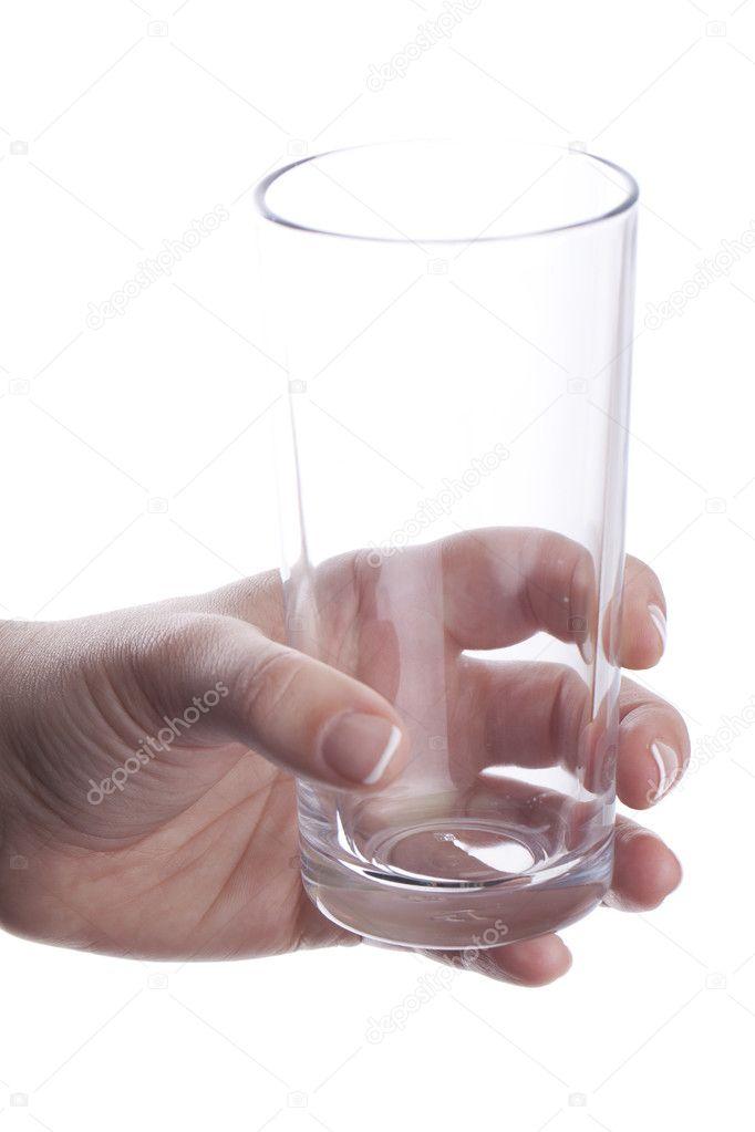 это картинка пустой стакан в руке некоторых случаях