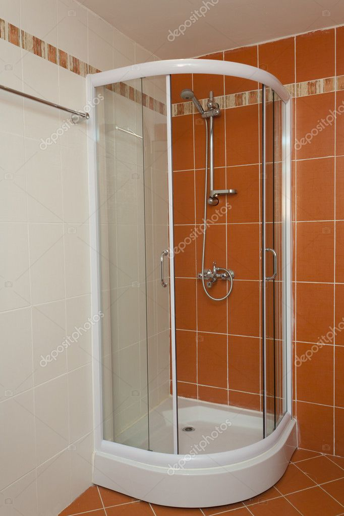 badkamer cabine — Stockfoto © alexhg1 #10637575